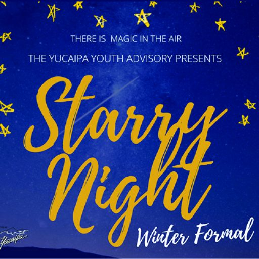 Starry Night Winter Formal